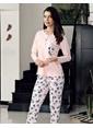 Şahinler Pijama Takım Renkli